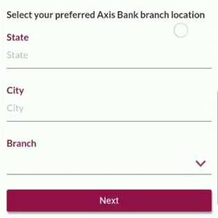 axis bank branch location